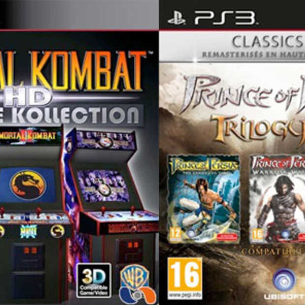 Prince of Persia en Mortal Kombat-rereleases ook in 3D