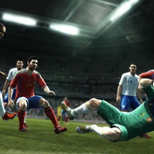 Pro Evolution Soccer 2012 gaat onderuit in de verlenging
