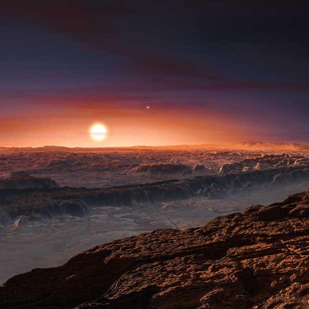 'Bewoonbare' planeet ontdekt: Proxima b