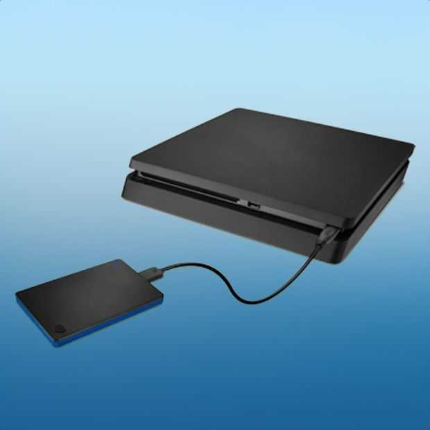 De Seagate Game Drive for PS4: klein, snel, handig en betaalbaar