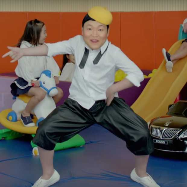 Bizarre video van PSY gaat alle records breken
