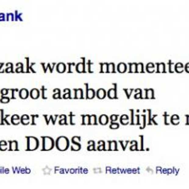 Rabobank gebruikt Twitter voor verdere info DDoS-aanval