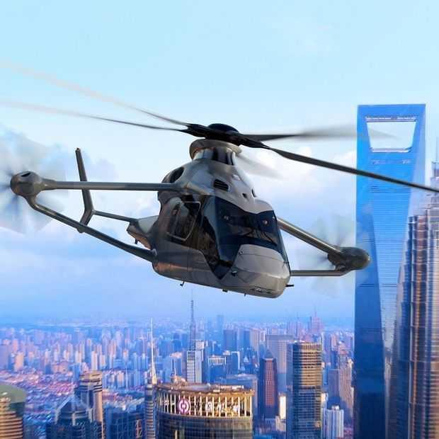 De Airbus Racer helikopter gaat superhard in stijl vanaf 2019