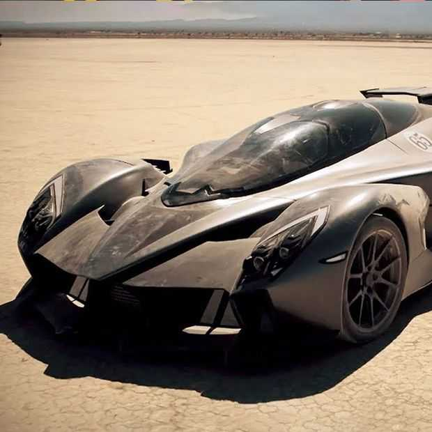 De RAESR Tacyon Speed: de extreemste elektrische auto
