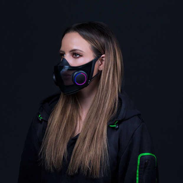 Project Hazel: een slim mondkapje van Razer