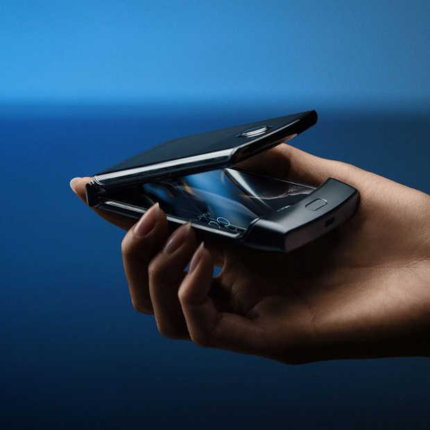 Motorola komt met opvolger van de iconische RAZR klaptelefoon