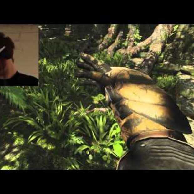 De toekomst van Gaming : Real-time Mocap and VR