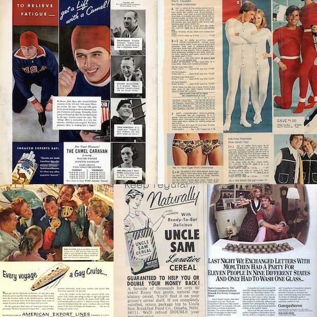 15x vintage advertenties