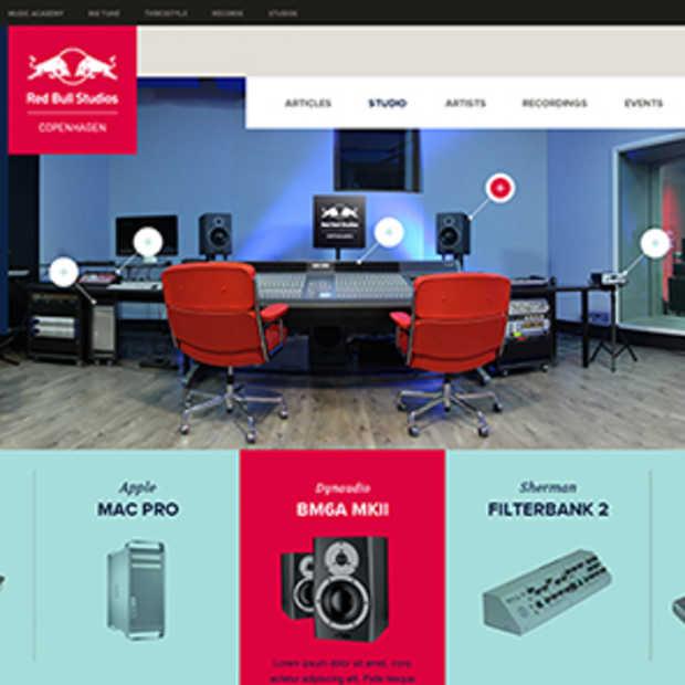 Red Bull Studios krijgt nieuwe identiteit en global website
