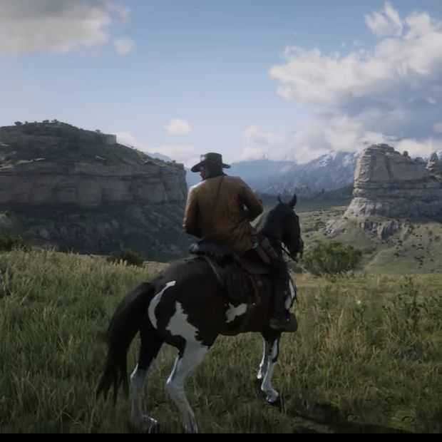 Eerste gameplaybeelden Red Dead Redemption 2 maken veel los