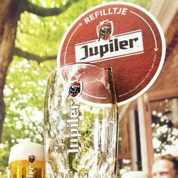 Geen lege glazen meer met het Refilltje van Jupiler