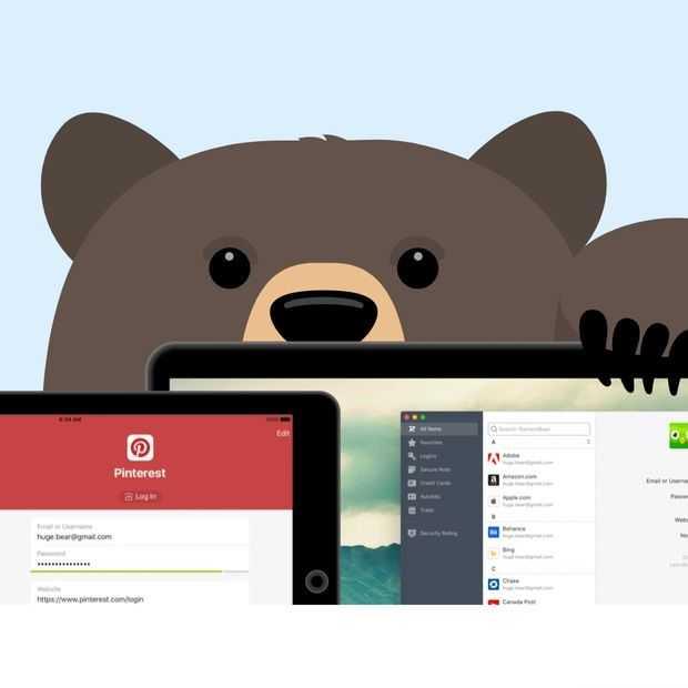 Tunnelbear gaat verder dan VPN en lanceert ook wachtwoordmanager