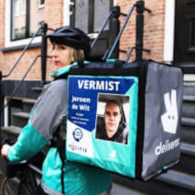 Deliveroo helpt politie bij zoektocht naar vermiste personen