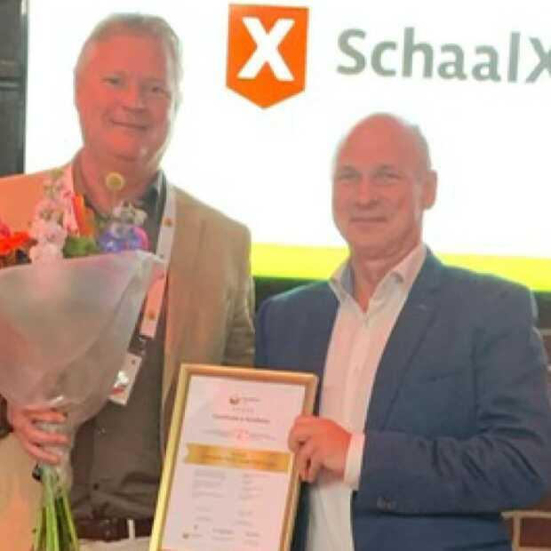 SchaalX als Excellent beoordeeld met een e-Academy certificaat
