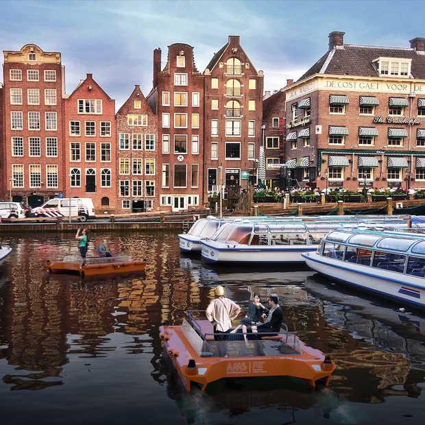 Binnenkort een autonome Roboat in de grachten van Amsterdam?