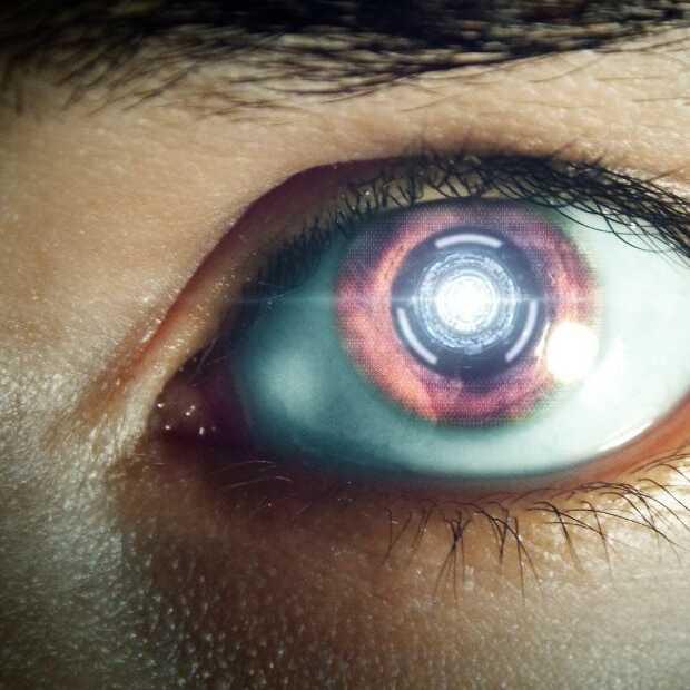 De enge, nieuwe robot van Disney heeft innovatieve ogen