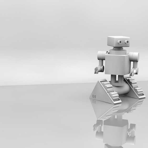 7 procent van de Nederlandse bedrijven maakt gebruik van robots