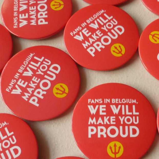 Facebook-event om 'Belgische supporter' te worden groot succes