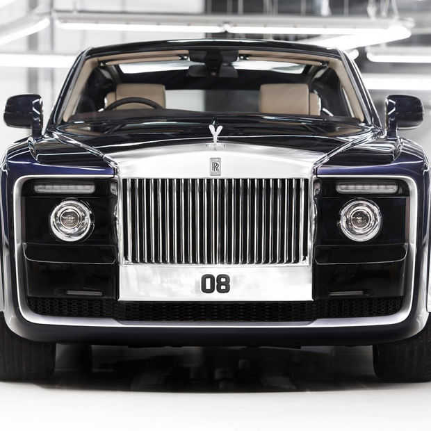 De Rolls-Royce Sweptail is de duurste auto ooit nieuw verkocht
