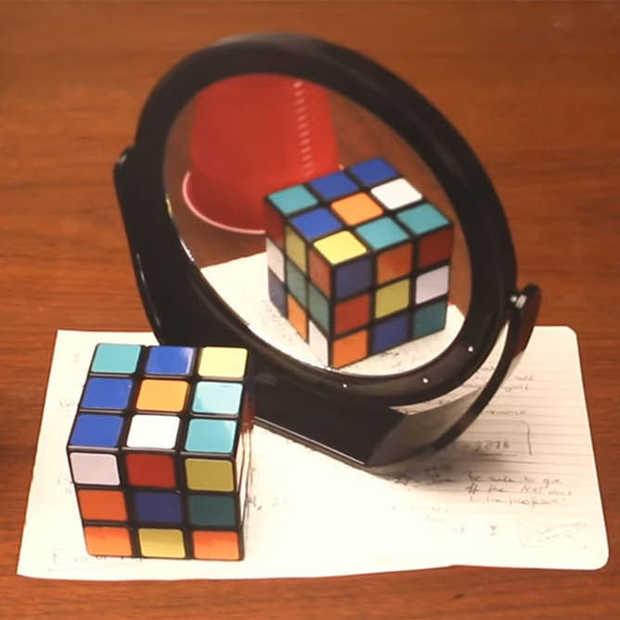 Deze optische illusie verknoeit je gevoel van perspectief
