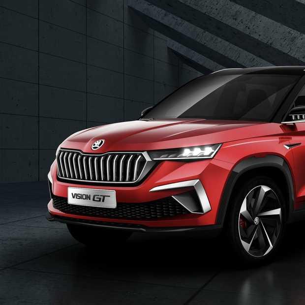 Škoda Vision GT concept alleen voor China