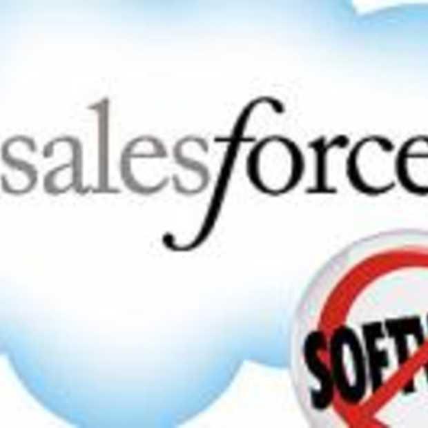 Salesforce.com een van de snelst groeiende ondernemingen