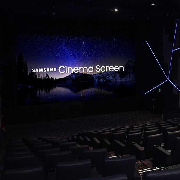 Samsung heeft een 4K bioscoopscherm van tien meter gemaakt