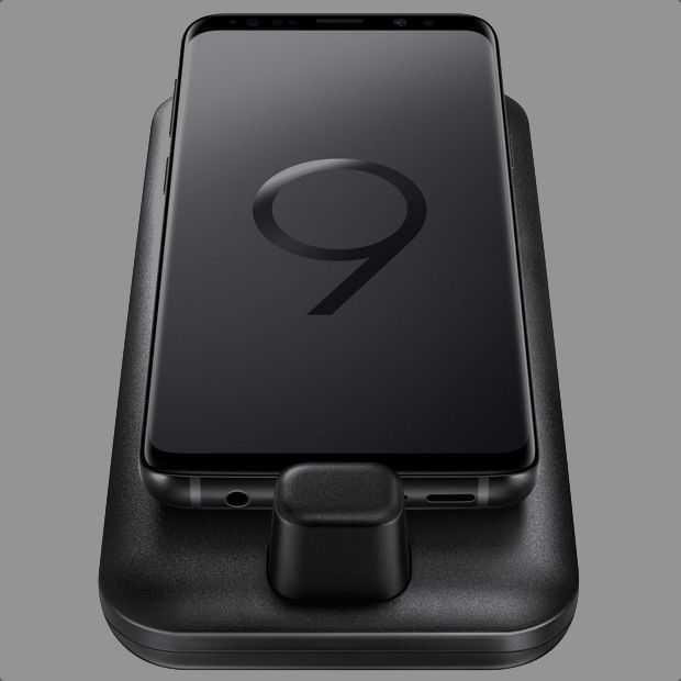Met de DeX Pad wordt je Galaxy S9 pc en touchpad tegelijk
