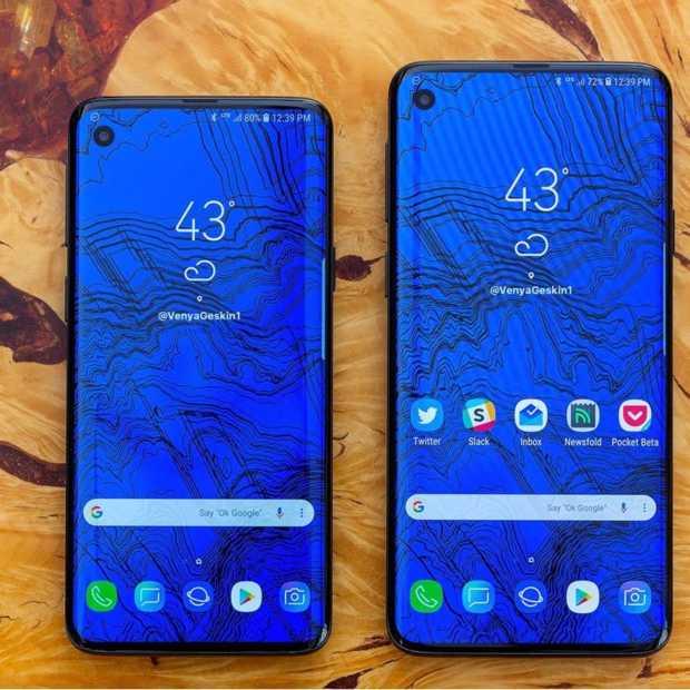 Als Samsung ballen heeft dan wordt de Galaxy S10 weer een echte eyecatcher