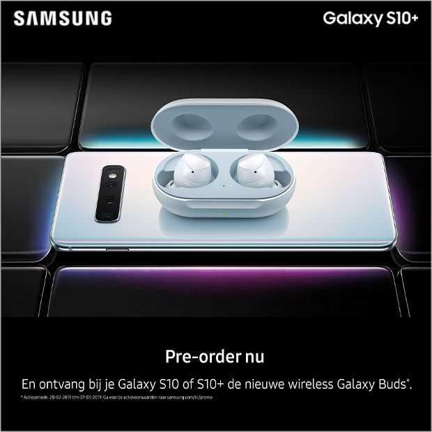 Samsung Galaxy S10 pre-order nu