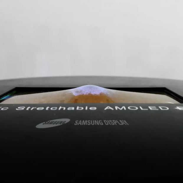 Samsung's nieuwe OLED-scherm kan alle kanten op buigen