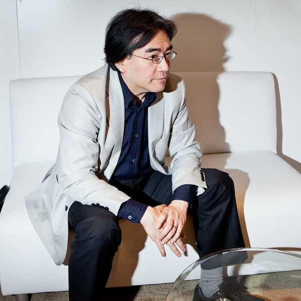 Satoru Iwata herstellende van operatie