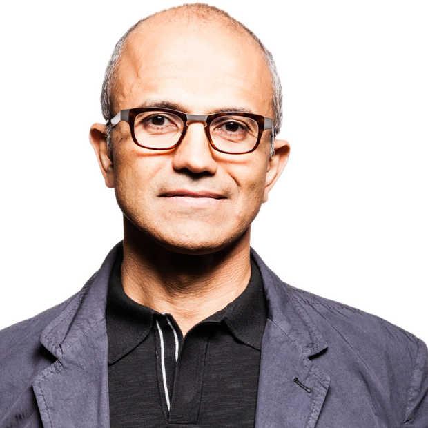 Satya Nadella is de nieuwe CEO van Microsoft