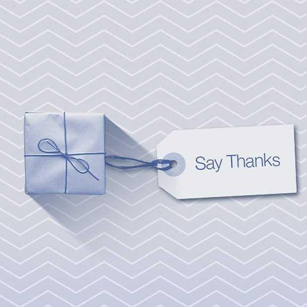 Al meer dan 200 miljoen Facebook 'Say Thanks' videos