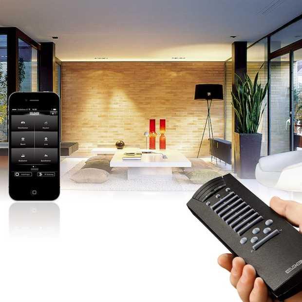 Domotica maakt het bedienen van elektrische apparaten makkelijk