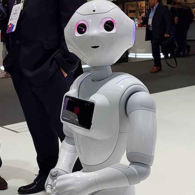 Mobile World Congress 2018 kun je samenvatten in 8 tekens 5G, AI, VR, AR