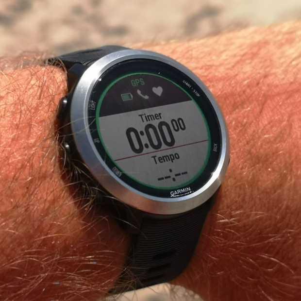 Dit horloge maakt hardlopen met muziek mogelijk!