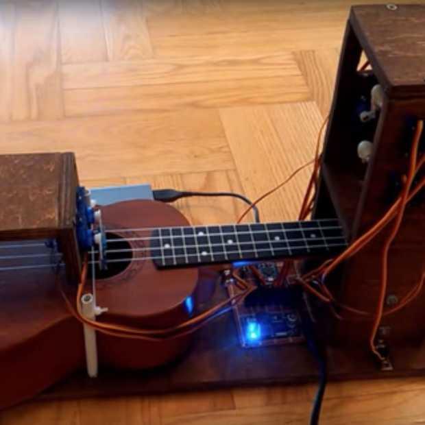 Robots kunnen ook een instrument bespelen!