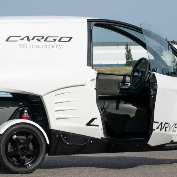 Carver lanceert uniek elektrisch bezorgvoertuig voor in de stad