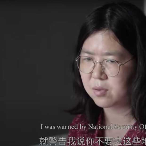 China gooit Zhang Zhan in de gevangenis