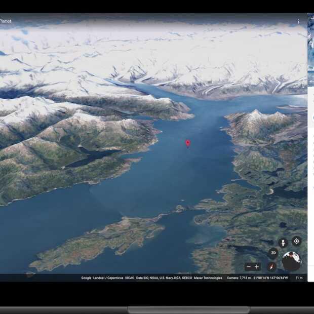 Update Google Earth: Timelapse laat je de wereld zien veranderen