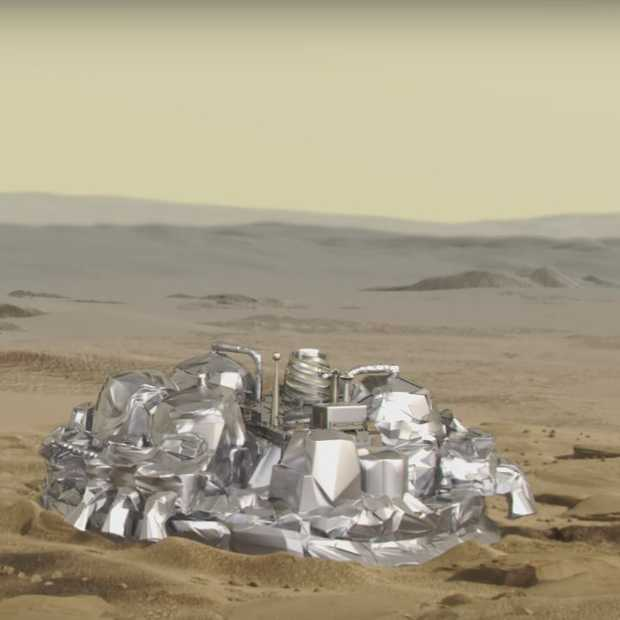 Vanmiddag: landing robot Schiaparelli op Mars