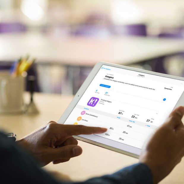 De schoolwerk-app van Apple komt nu ook beschikbaar voor leerkrachten