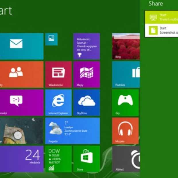 Screenshots van Windows Blue online uitgelekt