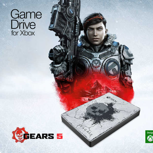 Winactie! Seagate Game Drive voor Xbox Gears 5 Special Edition