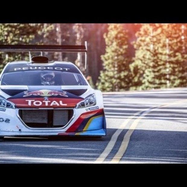 Sébastien Loeb & Rhys Millen Pikes Peak Record Runs 2013