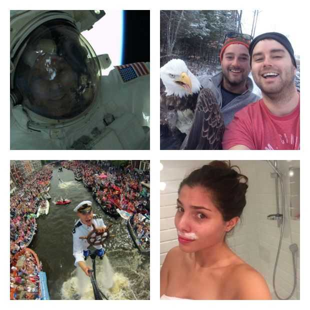 De 9 meest opvallende selfies van 2015!