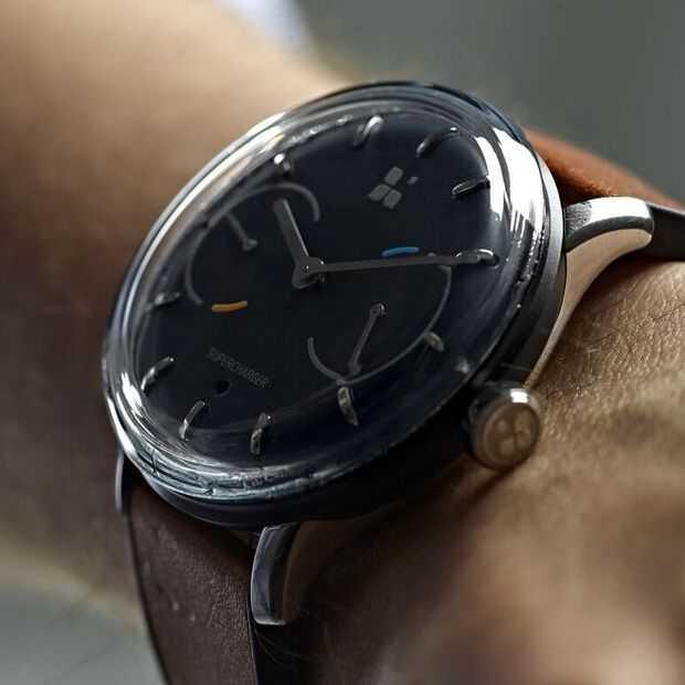 De Sequent Smartwatch hoeft nooit opgeladen te worden