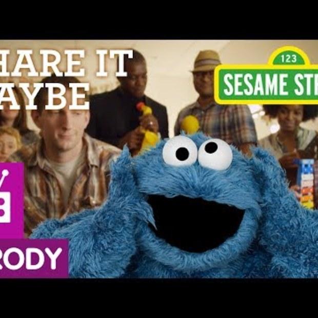 Viraal: Sesame Street - Share It Maybe