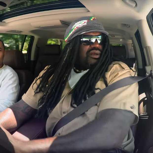 Prank: Shaquille O'Neal houdt Lyft-passagiers voor de gek